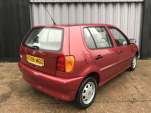 Amazing 1998 Volkswagen Polo 1.0 **12,717miles from new** SOLD (picture 4 of 6)