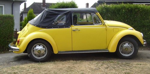 1973 VW Beetle Convertible For Sale (picture 1 of 6)