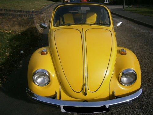 1973 VW Beetle Convertible For Sale (picture 3 of 6)