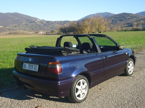 1996 Golf III Cabrio 1600 Movie Air conditioned For Sale (picture 2 of 6)