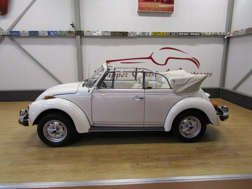 1977 Volkswagen Beetle 1303 Cabrio 1.6L inj. Triple White For Sale (picture 2 of 6)