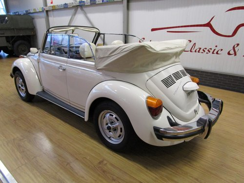 1977 Volkswagen Beetle 1303 Cabrio 1.6L inj. Triple White For Sale (picture 3 of 6)
