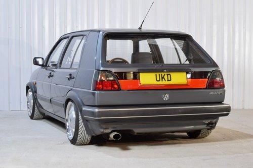 VW VOLKSWAGEN GOLF MK2 GTI 1.8 8V 5DR ATLAS GREY 1989  SOLD (picture 4 of 6)