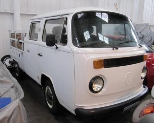 1986 VOLKSWAGEN VW KOMBI BAY WINDOW PICK UP * RARE 3 DOOR  For Sale (picture 1 of 6)