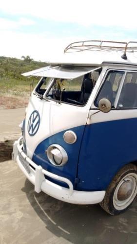 ORIGINAL 1975 VW KOMBI T1 SPLIT SCREEN CAMPER VAN BUS SAMBA For Sale (picture 3 of 6)
