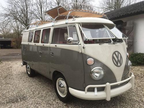 1962 Volkswagen T1 SO23, Campervan, T1 Westfalia  For Sale (picture 1 of 6)