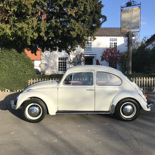 1969 RHD White Beetle SOLD (picture 1 of 6)