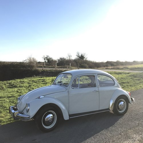 1969 RHD White Beetle SOLD (picture 4 of 6)