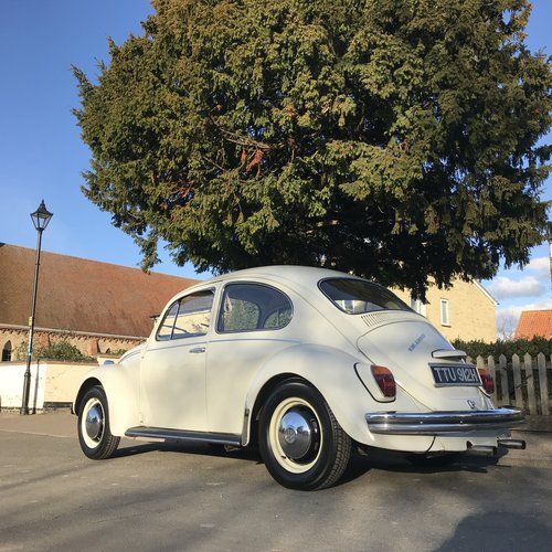 1969 RHD White Beetle SOLD (picture 6 of 6)