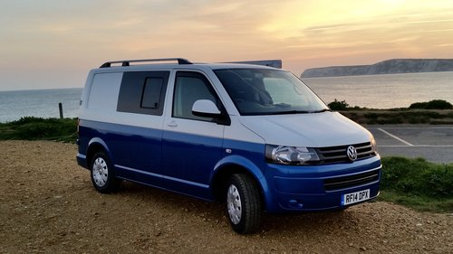 2014 Camper Van VW T5 For Sale (picture 1 of 5)