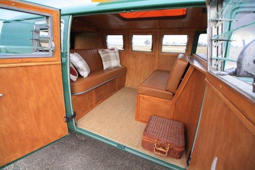 1966 VW Split Screen Camper Van – Pop Top – Rare Special Ord For Sale (picture 5 of 6)