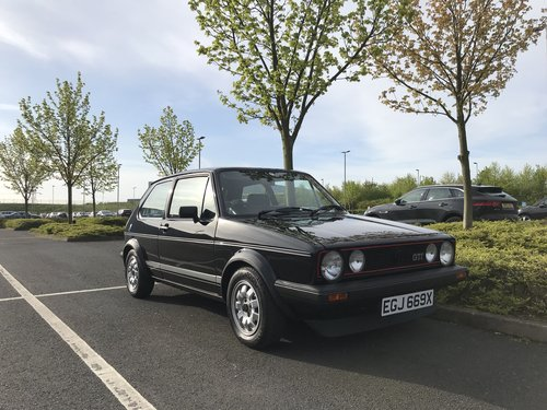 1982 MK1 Golf GTI Standard not Modified 1.6 1600 Black SOLD (picture 1 of 6)