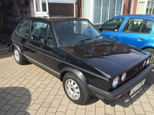 1982 MK1 Golf GTI Standard not Modified 1.6 1600 Black SOLD (picture 2 of 6)