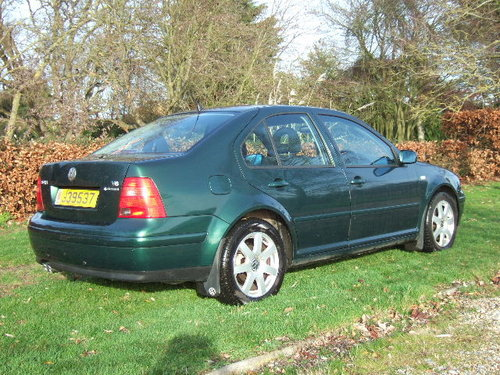 2001 Volkswagen Bora 2.8 V6 4Motion 6-speed only 44500 miles For Sale (picture 3 of 6)