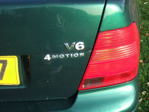 2001 Volkswagen Bora 2.8 V6 4Motion 6-speed only 44500 miles For Sale (picture 4 of 6)