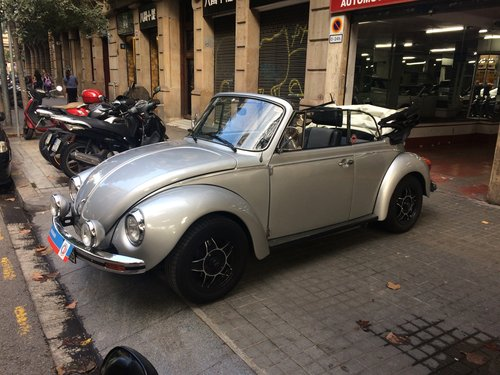 Beetle Cabriolet 1976 For Sale (picture 1 of 6)