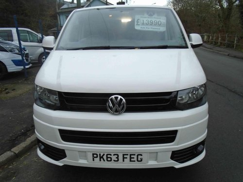 2013/63 Volkswagen Transporter 2.0TDi KOMBI 6 SEATER 114 BMT For Sale (picture 6 of 6)