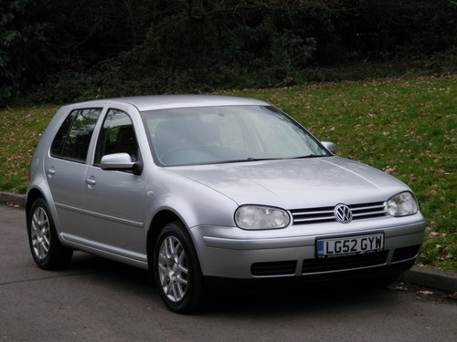 VW Golf 2.3 V5..Heated Leather Recaros.. Nice Example SOLD (picture 2 of 6)