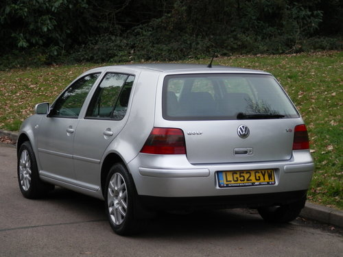 VW Golf 2.3 V5..Heated Leather Recaros.. Nice Example SOLD (picture 5 of 6)