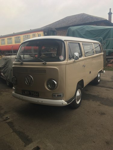 1970 vw t2 early bay Californian bus 1 owner For Sale (picture 1 of 6)