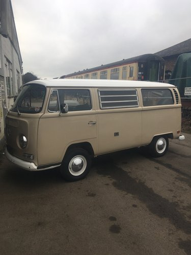 1970 vw t2 early bay Californian bus 1 owner For Sale (picture 2 of 6)