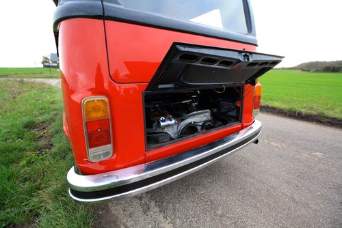 1977 VW Bay Window Camper Van – Right Hand Drive. For Sale (picture 4 of 6)