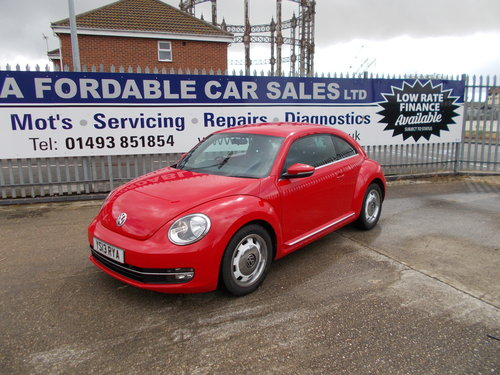 2013 VW Beetle 1.2 TSi S Auto.LOW MILEAGE NOW SOLD SOLD (picture 1 of 6)