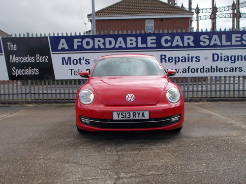 2013 VW Beetle 1.2 TSi S Auto.LOW MILEAGE NOW SOLD SOLD (picture 3 of 6)