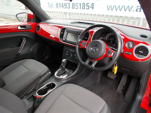 2013 VW Beetle 1.2 TSi S Auto.LOW MILEAGE NOW SOLD SOLD (picture 5 of 6)