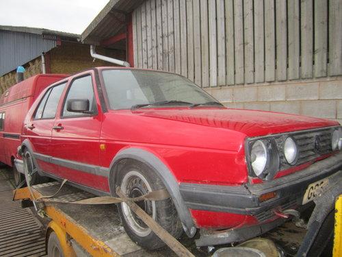 1989 VW Golf Mk2 1.6 weber carb barn find deposit taken For Sale (picture 1 of 2)
