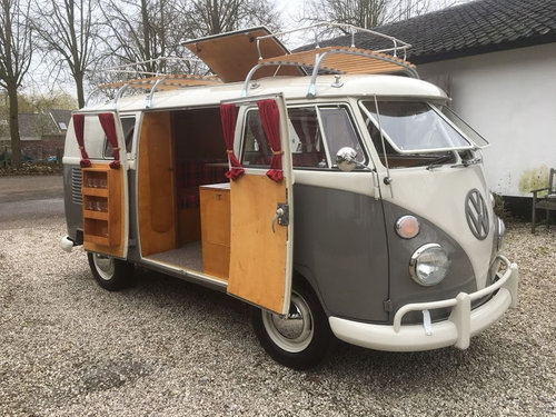 1962 Volkswagen Westfalia, VW T1, Camper Van, T1 Bulli SOLD (picture 1 of 6)