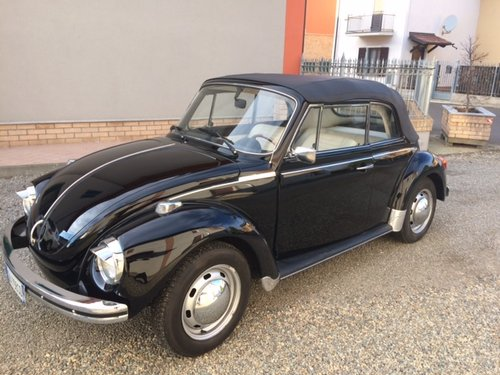 VOLKSWAGEN BEETLE CABRIOLET 1300 - 1974 For Sale (picture 1 of 6)
