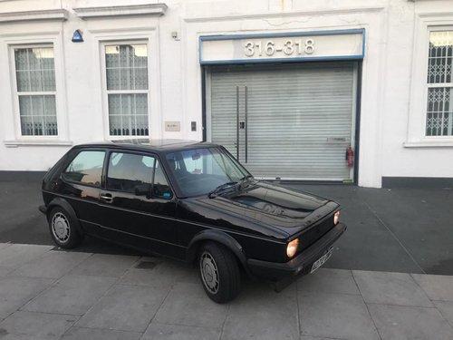 Mk 1 Golf GTI 1.8 Black Campaign 1983 , 57000 . For Sale (picture 5 of 5)