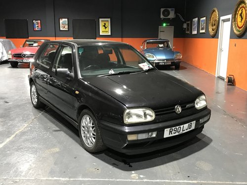1997 1996 VW GOLF VR6 For Sale (picture 1 of 6)