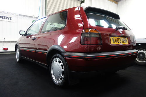 1992 Volkswagen Golf GTi in superb original condition  SOLD (picture 3 of 6)