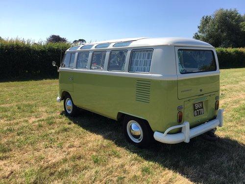 1964 Volkswagen Split Screen, 21 Window Deluxe Samba For Sale (picture 2 of 6)