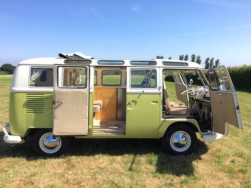 1964 Volkswagen Split Screen, 21 Window Deluxe Samba For Sale (picture 6 of 6)