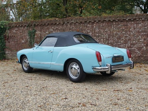 1973 Volkswagen Karmann Ghia 1600 convertible only 44.139 miles! For Sale (picture 2 of 6)