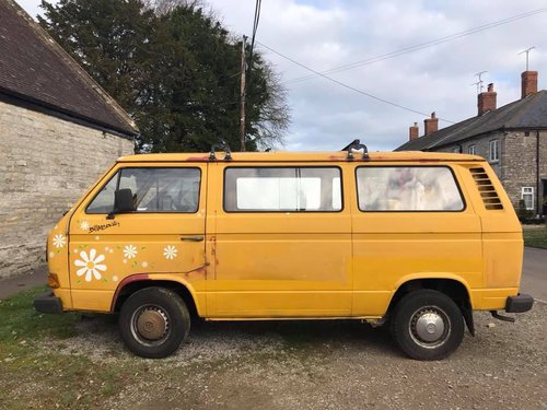 1979 LHD VW T25 camper van For Sale (picture 1 of 5)