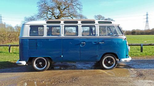 1967 Volkswagen 21 Window Samba For Sale (picture 5 of 6)