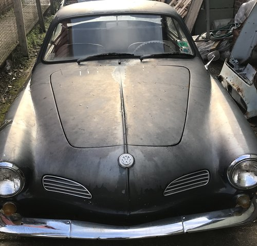 1964 Karmann Ghia coupe project For Sale (picture 1 of 6)
