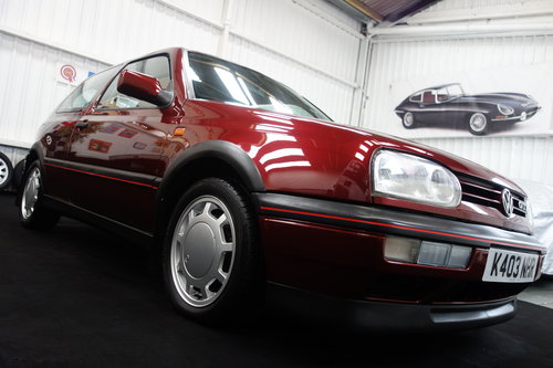 1992 Volkswagen Golf GTi in superb original condition SOLD (picture 1 of 6)