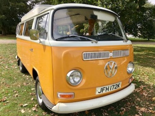 1972 Devon camper, 3 owners FSH 26 000 miles from new A1  For Sale (picture 1 of 6)