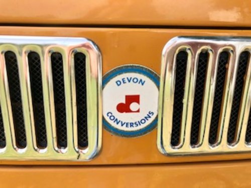 1972 Devon camper, 3 owners FSH 26 000 miles from new A1  For Sale (picture 3 of 6)