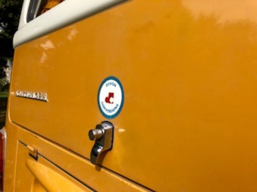 1972 Devon camper, 3 owners FSH 26 000 miles from new A1  For Sale (picture 4 of 6)