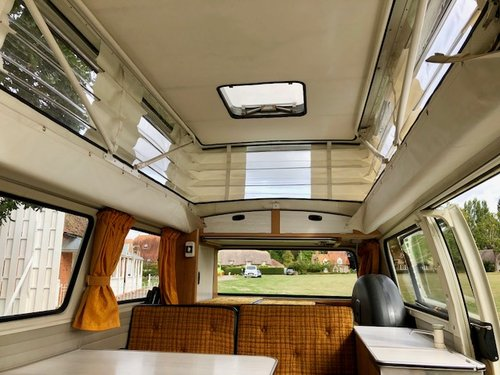 1972 Devon camper, 3 owners FSH 26 000 miles from new A1  For Sale (picture 6 of 6)
