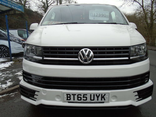 2015 TRANSPORTER TRANSPORTER SHUTTLE T6 2.0 TDI 102 S SEATE For Sale (picture 3 of 6)