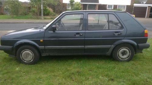 1991 VW Golf Diesel Mk2 1.6L 5dr hatchback Saloon SOLD (picture 2 of 6)