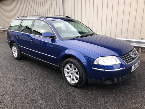 2004 VW PASSAT B5 1.9 TDI PD 130 BHP AUTOMATIC ESTATE HIGHLINE SOLD (picture 1 of 6)