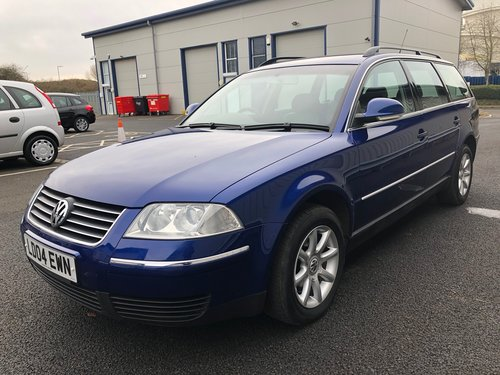 2004 VW PASSAT B5 1.9 TDI PD 130 BHP AUTOMATIC ESTATE HIGHLINE SOLD (picture 4 of 6)